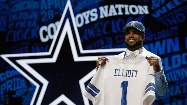 Cowboys Take Ohio St. RB Elliott With No. 4 Pick