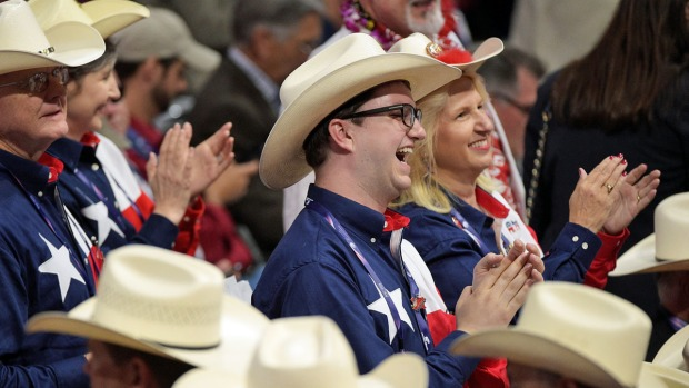 Texas Delegation at 2016 Republican Convention