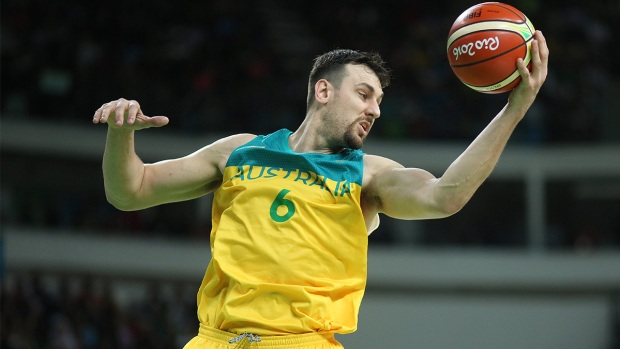 Andrew Bogut rips officiating after Australia's controversial loss to Spain