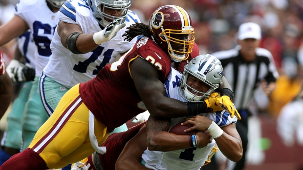 Sideline Photos: Cowboys vs. Redskins