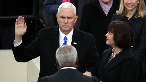 [NATL] Mike Pence Sworn in as Vice President
