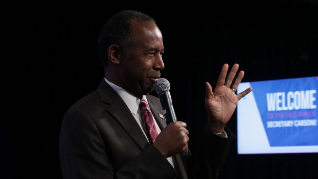 Carson Compares Slaves to Immigrants in First Address to HUD