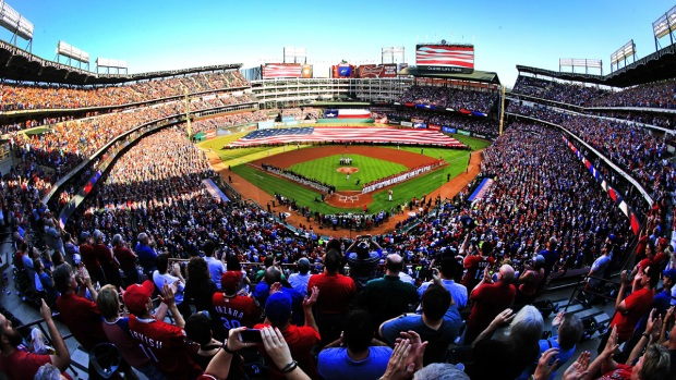 Rangers Host Indians for Opening Day