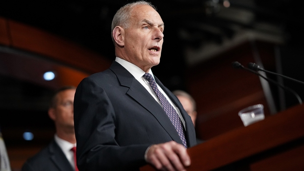 John Kelly faces 'baptism of fire' in fixing Trump White House