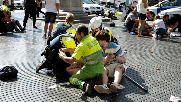 [NATL] Photos: Deadly Terrorist Attacks in Barcelona, Cambrils