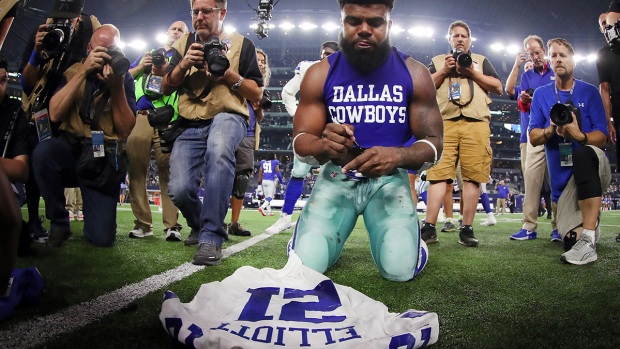 Images from the Sideline: Cowboys 19, Giants 3