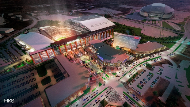 Here's what the Rangers' new ballpark will look like inside and out