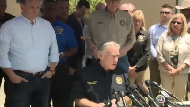 Texas Gov. Greg Abbott Responds to School Shooting