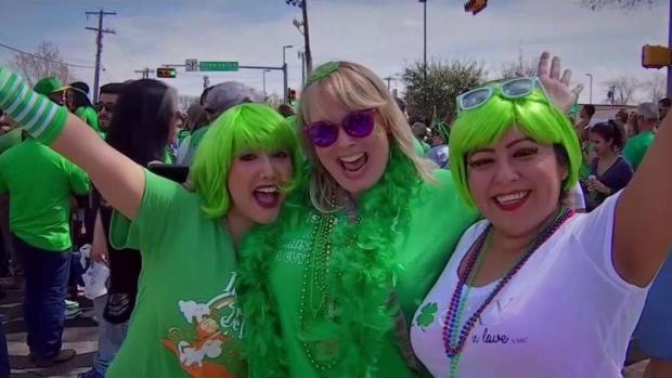 Perfect Weather for Dallas St. Patrick's Day Parade