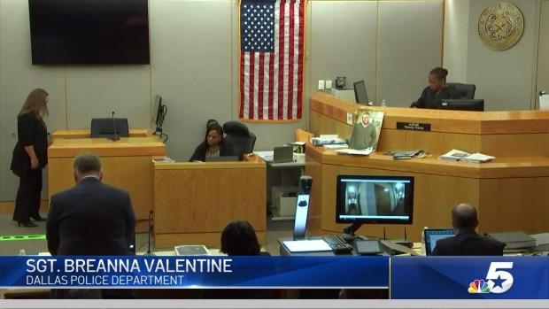 Dallas PD Sgt. Breanna Valentine Testifies in Guyger Trial
