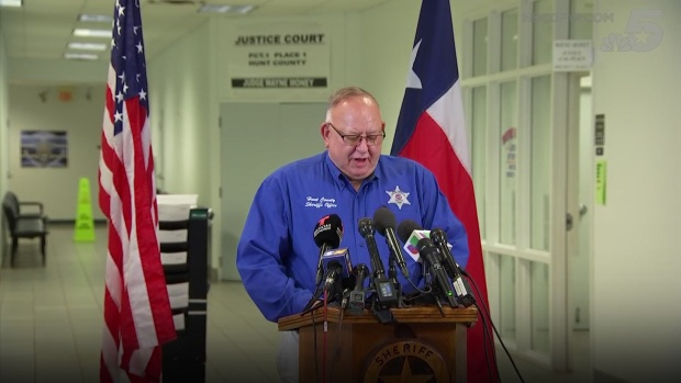 [DFW] Hunt County Sheriff Announces Arrest in Greenville Shooting