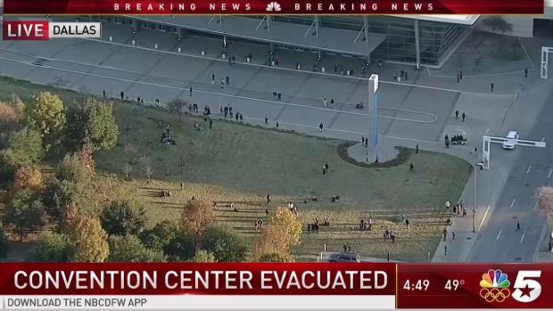 Dallas' Hutchison Convention Center Evacuated