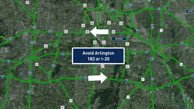 Interstate 30 in Arlington Reopens Ahead of Schedule - NBC 5 Dallas ...