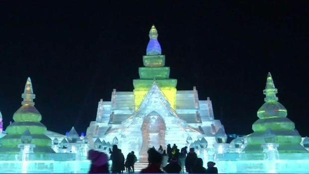 [DFW] Ice and Snow Festival Opens in Northern China