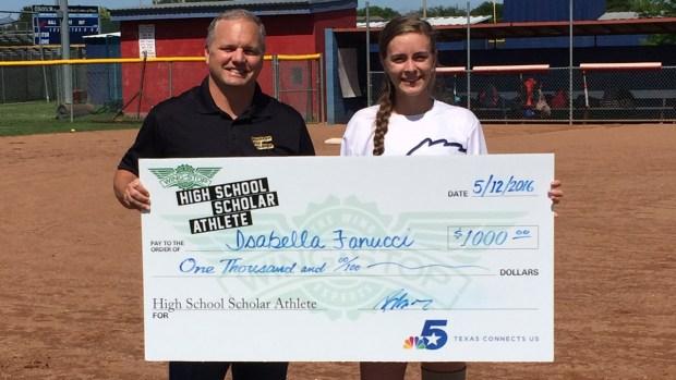 Isabella Fanucci is Wingstop's Scholar Athlete