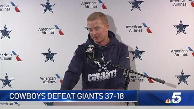 Garrett: Cowboys Executed Early, Pulled Away Late
