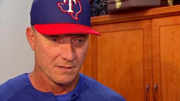 [DFW] Rangers Manager Jeff Banister Speaks on Players' Protests