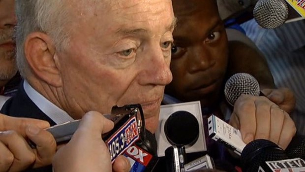 [DFW Blue Star]Jerry Jones Addresses Ratliff Rumors