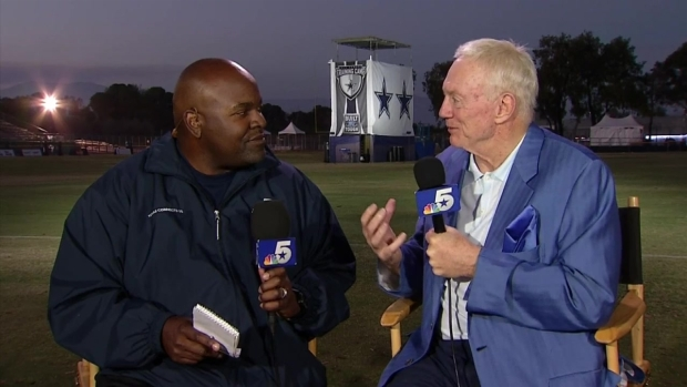 [DFW] Jerry Jones on Cowboys Training Camp 2015