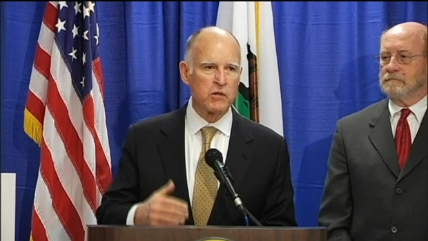 """[BAY] """"Worst Drought Calif. Has Ever Seen,"""" Gov. Jerry Brown"""