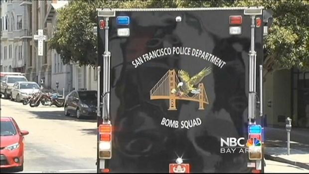 [BAY] FBI, Hazmat Crews Outside SF Building
