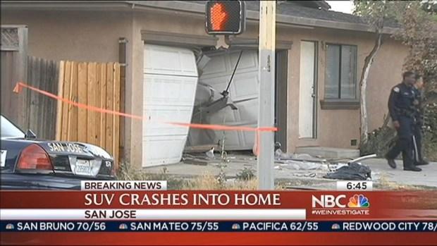[BAY] Car Crashes into San Jose House