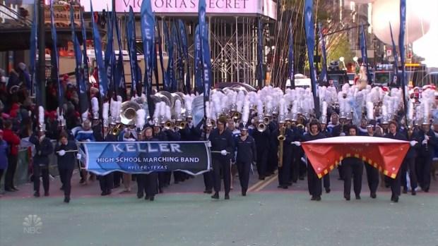 Keller H.S. Band Performs at Macy's Thanksgiving Day Parade