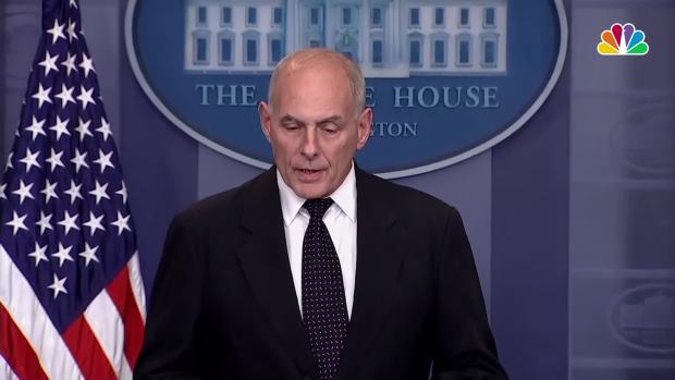 [NATL] John Kelly 'Stunned' by Congresswoman's Criticism of Trump's Call to Fallen Soldier's Family