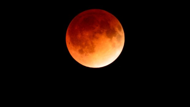 Blood Moon Lunar Eclipse Photos