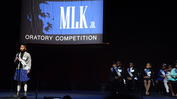 [DFW] Students Compete in Annual MLK, Jr. Oratory Competition