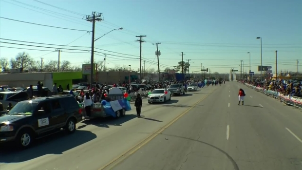Dallas MLK, Jr. Day Parade 11:30 a.m. - 12 p.m.