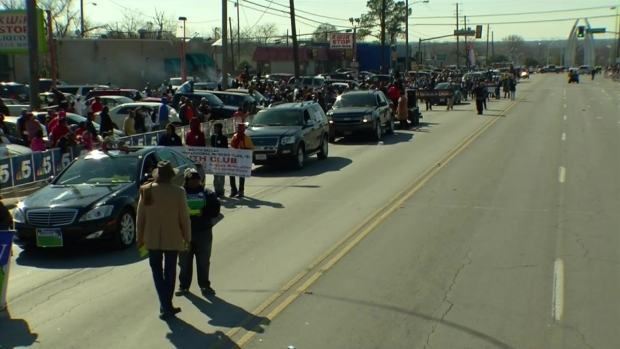 Dallas MLK, Jr. Day Parade 12:30 p.m. - 1 p.m.
