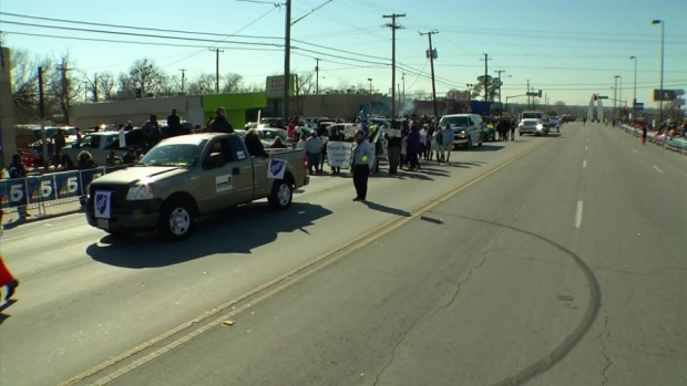 Dallas MLK, Jr. Day Parade 12:00 p.m. - 12:30 p.m.