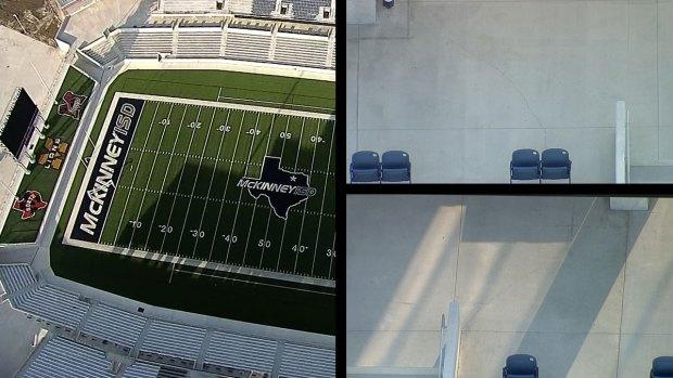 [DFW] Cracks in Concrete Delay Opening of $70 Million McKinney ISD Stadium