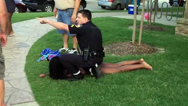 [DFW] Raw Video Shows Officer's Response in McKinney Pool Party Disturbance