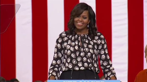 [NATL] Michelle Obama: When They Go Low, We Go High — by Voting