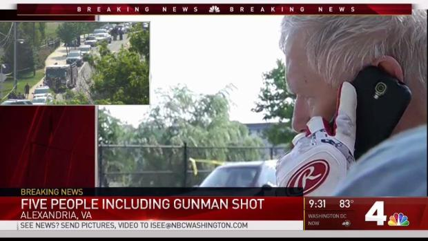 Rand Paul Discusses Role of Security During Morning Shooting