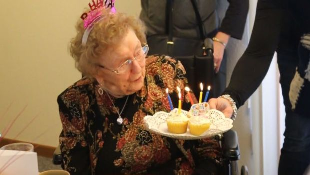 [DFW] Great-Great Grandmother Going Strong at 104