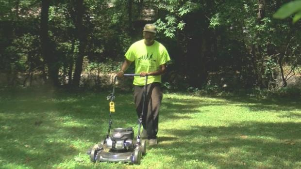 [DFW] Man Mows Lawn for Veterans in 50 States