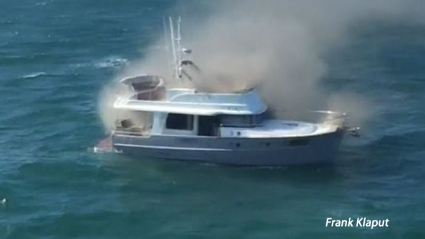 [DFW] Ferry Crew Saves Family From Burning Boat