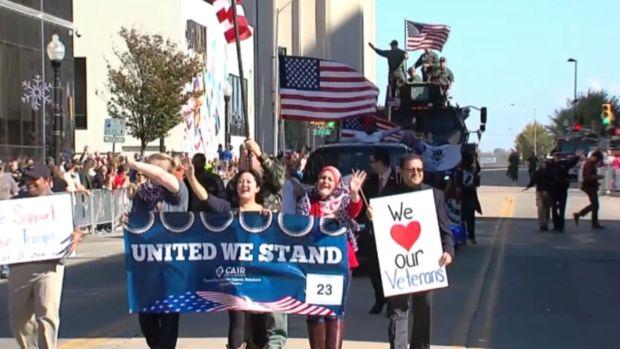 [NATL-DFW] Veterans Parade Rejects CAIR Float