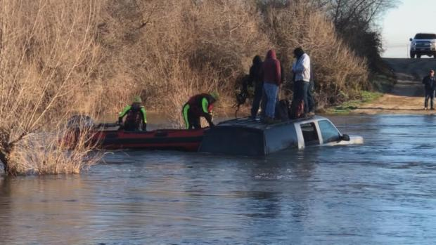 [DFW] Five Men Rescued From River