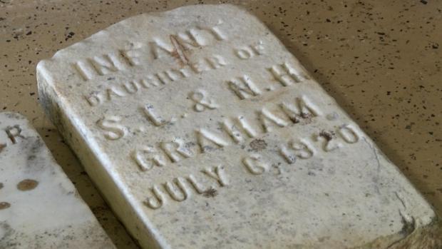 [DFW] Cemetery Headstones Mystery for Virginia Community