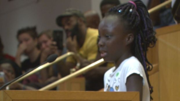 [NATL] 9-Year-Old Girl in Charlotte Makes Plea For Peace