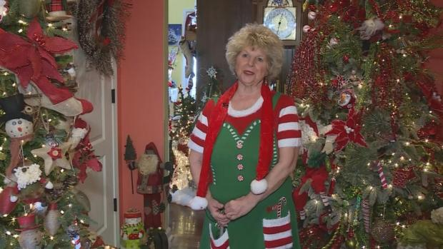 [DFW] Woman Decorates Home with Over 175 Christmas Trees