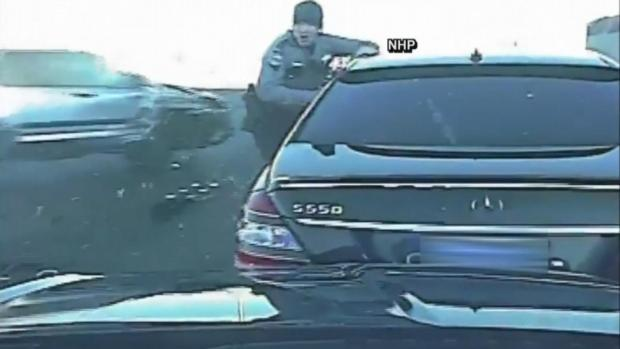 [DFW] Trooper Dodges Drunk Driver