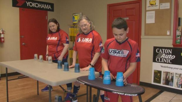 [DFW] Family Represents USA in Cup Stacking Competition