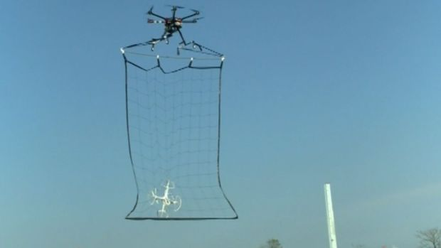 [NATL] Tokyo Police Test Drone That Catches Other Drones