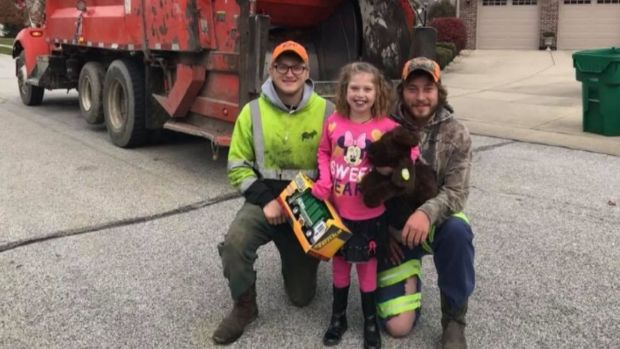 [DFW] Sanitation Workers Deliver Special Birthday Surprise