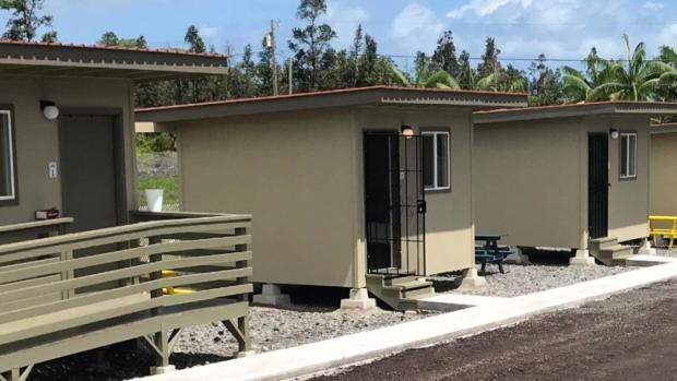 [DFW] Families Affected by Volcano Eruptions Living in Tiny Homes